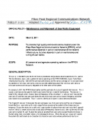 Approved PPRCN Radio Maintenance and Alignment Policy 110302 sig
